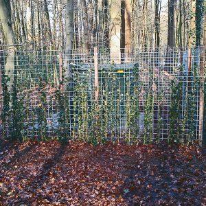 In opdracht van Liander verzorgen wij de fundaties, straatwerk en hekwerk  voor traforuimtes in de provincie Gelderland